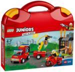 LEGO Juniors - Tűzoltó járőr játékbőrönd (10740)