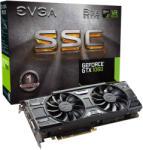 EVGA GeForce GTX 1060 SSC GAMING ACX 3.0 6GB GDDR5 192bit PCIe (06G-P4-6267-KR) Videokártya