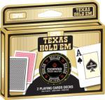 Copag Texas Hold'em póker kártya - dupla pakli dealer zsetonnal