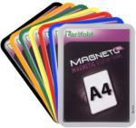 TARIFOLD Mágneses tasak, mágneses háttal, A4, TARIFOLD Magneto Solo, ezüst (2db/csom) TF195030