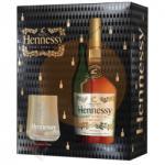 Hennessy VS Cognac díszdobozban, 2db pohárral 0,7l (40%)