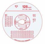 Tachográf korong 100 km/h (100db/csom) (TACHO100)