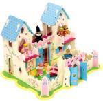 Bigjigs Toys Fa palota hercegnő