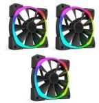 NZXT Aer RGB 120x120x26mm 3 Pack (RF-AR120-T1)