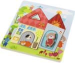 HABA Puzzle Din Lemn - Casa Ursulețului Puzzle