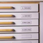 3L Címketartó zseb, 30x150 mm, fiókhoz, 3L (3L7530) - tutitinta