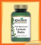 Swanson Full Spectrum Lemon Balm (60 caps. )