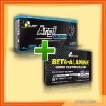 Olimp Sport Nutrition Argipower 1500 Mega Caps + Beta Alanine Carno Rush (set)