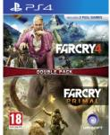 Ubisoft Double Pack: Far Cry 4 + Far Cry Primal (PS4) Software - jocuri