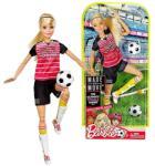 Mattel Barbie - Mozgásra Tervezve - Szőke focista baba (DVF69)