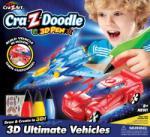 Cra-z-doodle 3D Határtalan fantázia, különleges járművek vagy szuperhősök (CMH-14596)