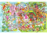 Bigjigs Toys Fa puzzle - Fantasyland