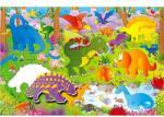 Galt nagy padló puzzle - Dinoszauruszok
