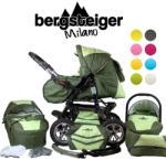 Bergsteiger Milano Babakocsi