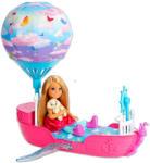 Mattel Barbie - Dreamtopia - Chelsea varázslatos álomhajója (DWP59)