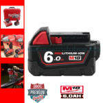 Milwaukee M18B6 18V 6.0Ah  Li-Ion (4932451244)