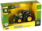 Klein John Deere traktor homlokrakodóval