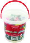 DACO Plastilina 10 culori/set 400 g, DACO