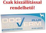 Tolnagro DogVerm Plus tabletta A. U. V. 20db/cs