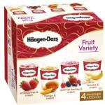 Häagen-Dazs Fruit Variety jégkrém 4 x 100 ml