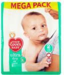 Tesco Loves Baby Ultra Dry 2 Mini nadrágpelenka 3-6 kg 78 db