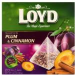 Loyd aromatizált szilva és fahéj ízű gyümölcstea 20 filter 40 g