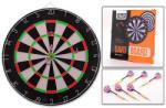 Sports Active tablă de darts cu două feţe (LAD-20257) Joc de societate