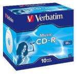 Verbatim CD-R 16X 80MIN Music Life Plus (43365)