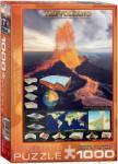 EUROGRAPHICS The Volcano 1000 db-os (6000-2998)