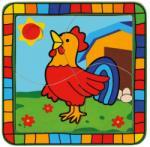 Bino Kakas fa puzzle 4 db-os (BINO-88005)