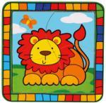 Bino Oroszlános fa puzzle 4 db-os (BINO-88002)