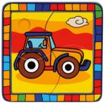 Bino Traktor fa puzzle 4 db-os (BINO-88007)