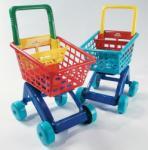 Dohány cărucior pentru cumpărături pentru copii 5022 albastru-roşu (DH5022)