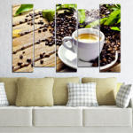 Vivid Home Картини пана Vivid Home от 5 части, Кулинарен, Канава, 160x100 см, 3-та Форма №0304