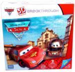 Mega Puzzles 3D Domborított Puzzle - Verdák 2 közepes fokozat (50671)