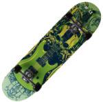 Toldysport Gördeszka, Green Guitar Skull minta ABEC 7, Toldysport