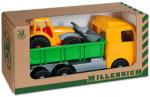 Androni Játék teherautó munkagéppel 49 cm-es - többféle