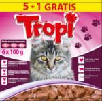 Tropi - ПОЛША / poland Комплект паучове за коте в шест вкуса Tropi (amazon Комплект паучове за коте в шест вкуса)
