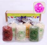 Vanita Kreatív Natúr Szappangyurma csomag rózsaszín kiszúróval (VANITA428244)