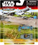 Hasbro Star Wars VII Micro Machines 3-as jármű csomag - Resistance Base Hasbro (SWB3500/B6940)