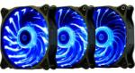 Segotep RexGB fans 1200 120mm 3 Pack