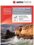 AGFA Hartie foto inkjet lucioasa AGFA Premium, 13x18 cm, 240 g/mp