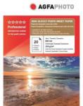 AGFA Hartie foto inkjet superlucioasa AGFA Professional, A4, 260 g/mp