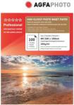 AGFA Hartie foto inkjet superlucioasa AGFA Professional, 10x15 cm, 260 g/mp