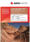AGFA Hartie foto inkjet lucioasa AGFA Premium, A4, 210g/mp
