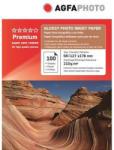 AGFA Hartie foto inkjet lucioasa AGFA Premium, 13x18 cm, 210 g/mp