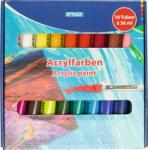 Stylex acrylfesték készlet, 18db x 36ml (28655)