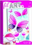 Aladine FIL'ART - Kreatív készlet - Pillangók