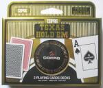 Copag Set carti joc Texas Hold`em + buton dealer