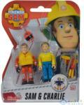Dickie Toys Sam, A Tűzoltó: Figurák - Sam És Charlie (Dickie, 109257651038-SC)